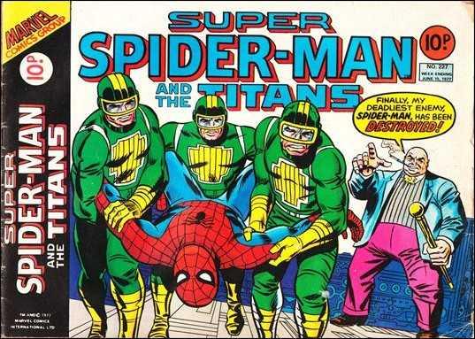 Super Spider-Man and the Titans Vol 1 227