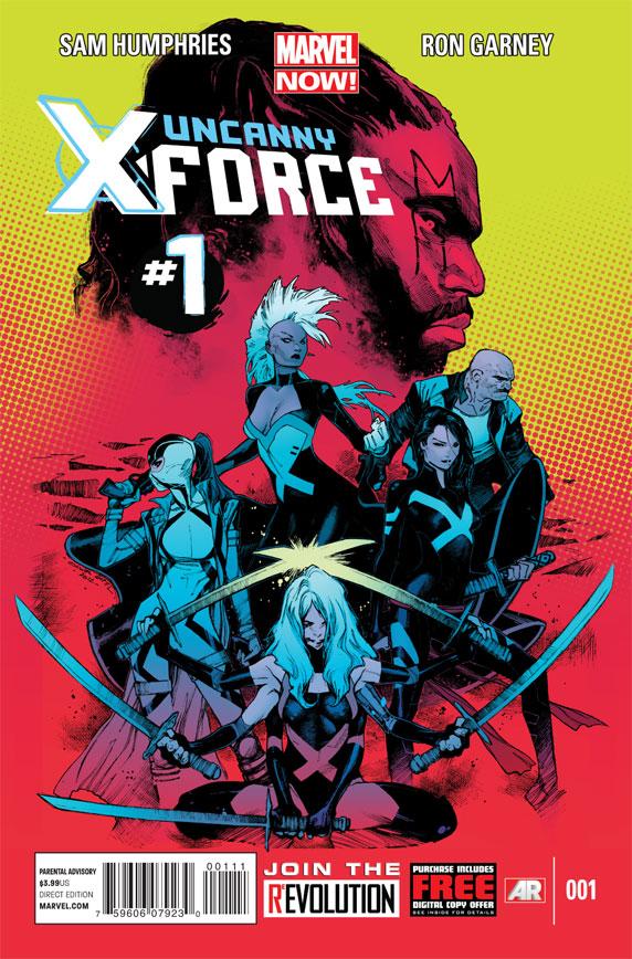 Uncanny X-Force Vol 2 1