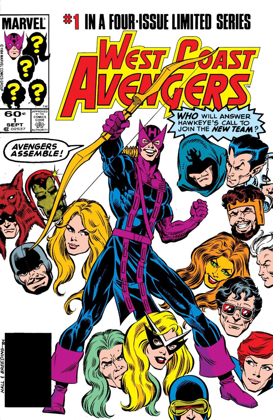 West Coast Avengers Vol 1 1