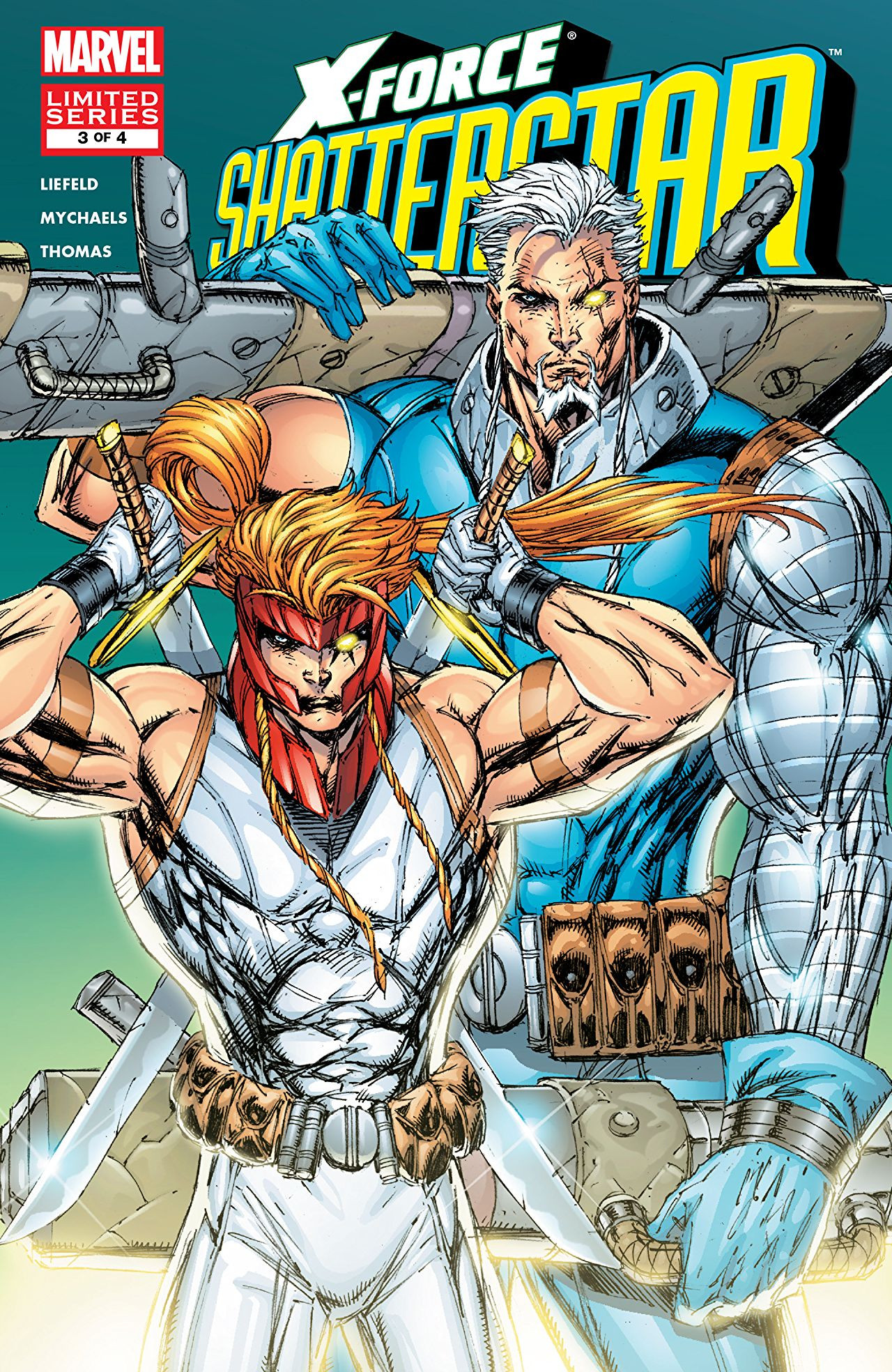 X-Force: Shatterstar Vol 1 3