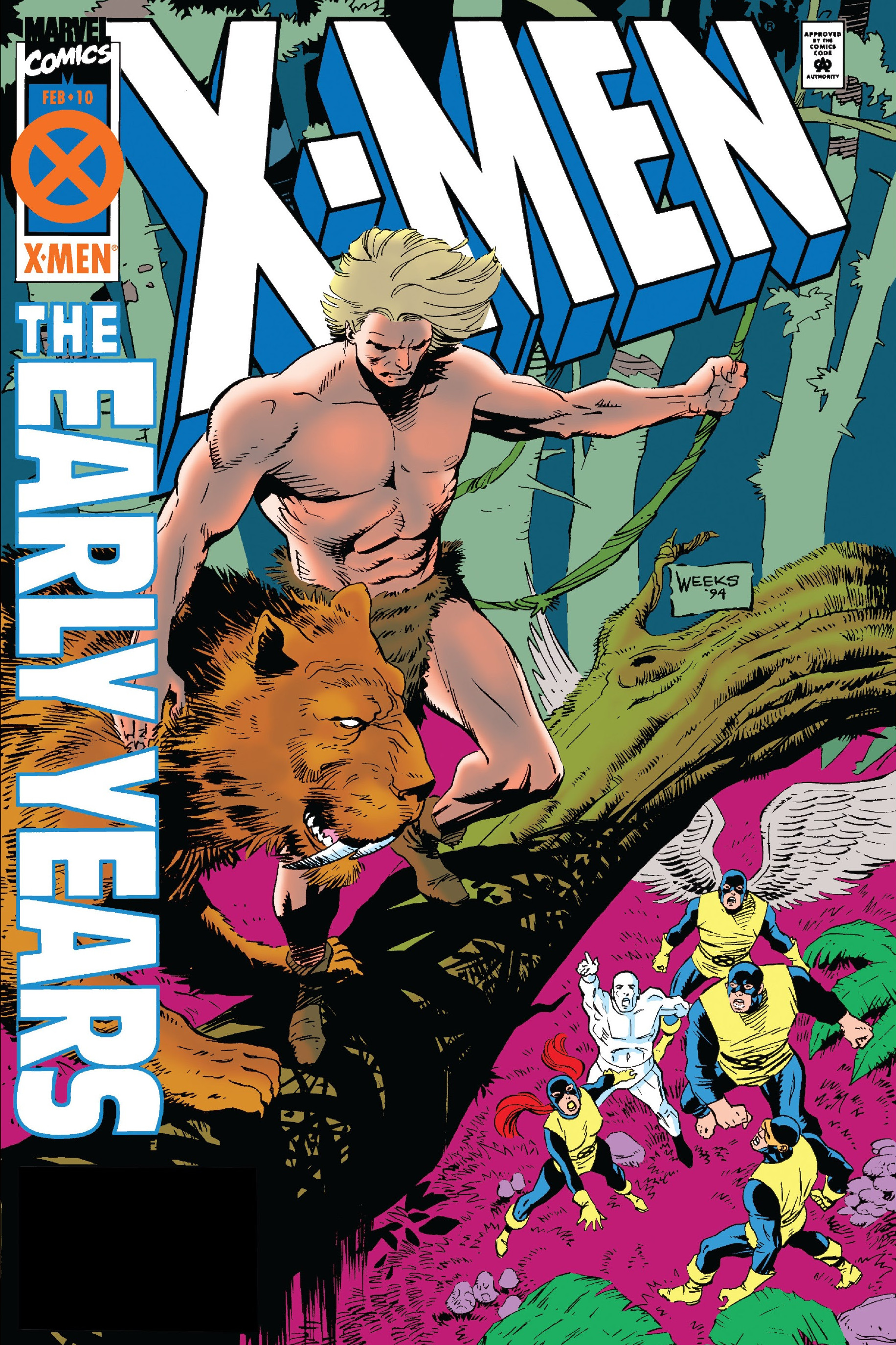 X-Men: The Early Years Vol 1 10