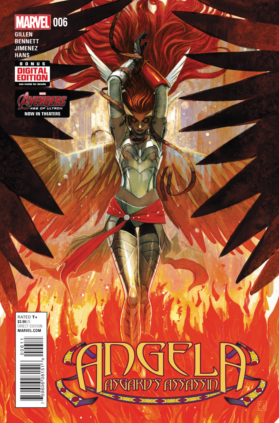 Angela: Asgard's Assassin Vol 1 6