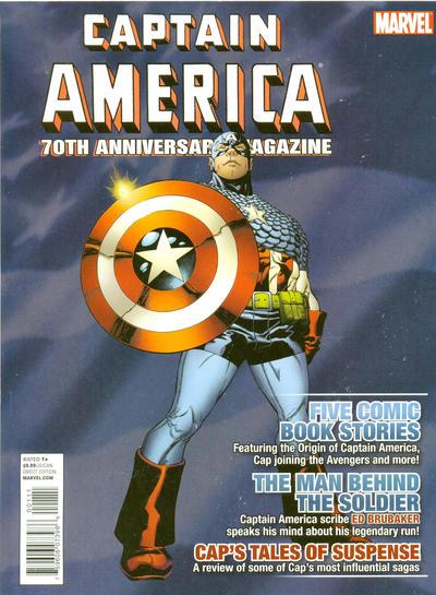 Captain America: 70th Anniversary Magazine Vol 1 1