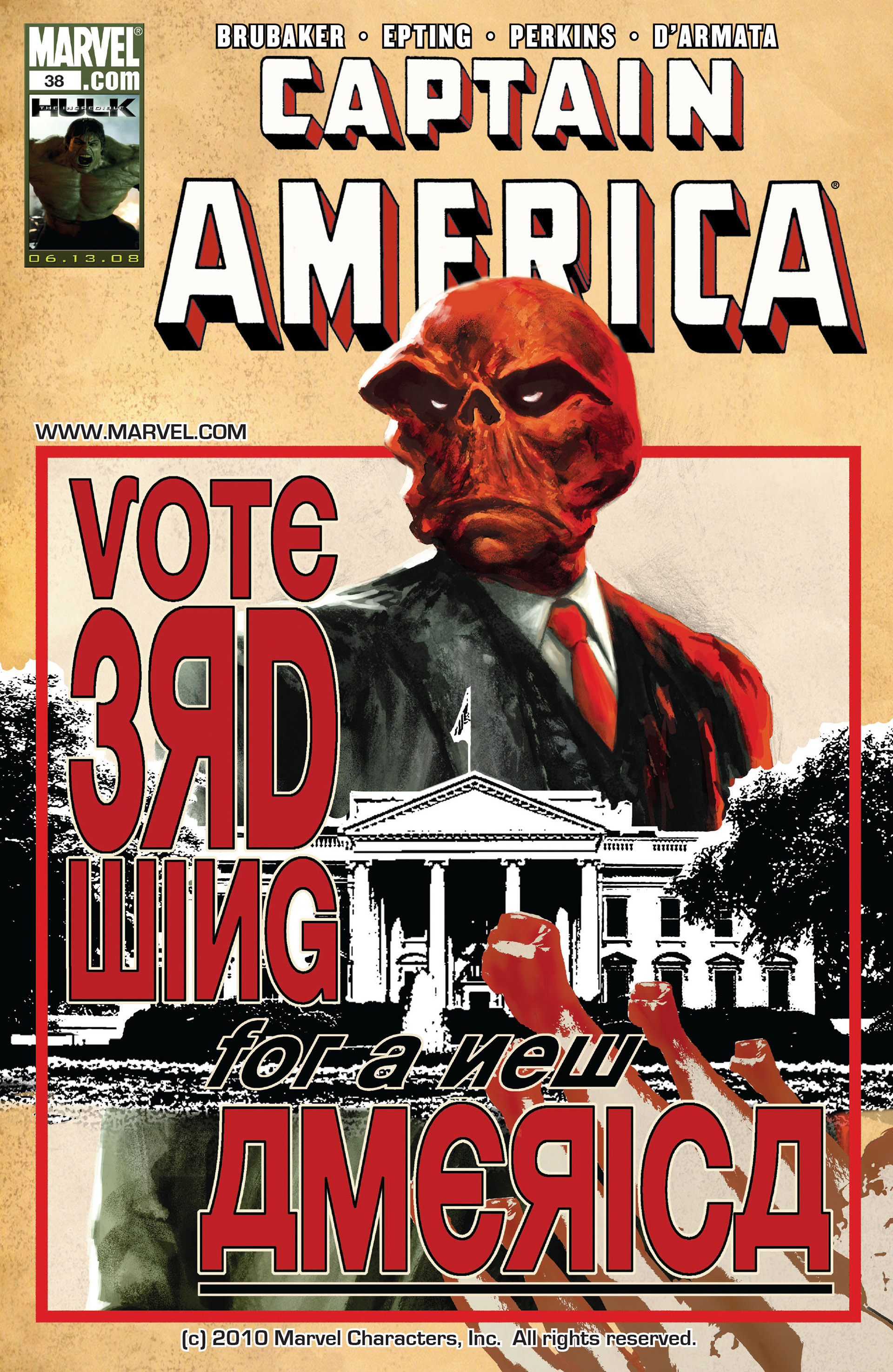 Captain America Vol 5 38