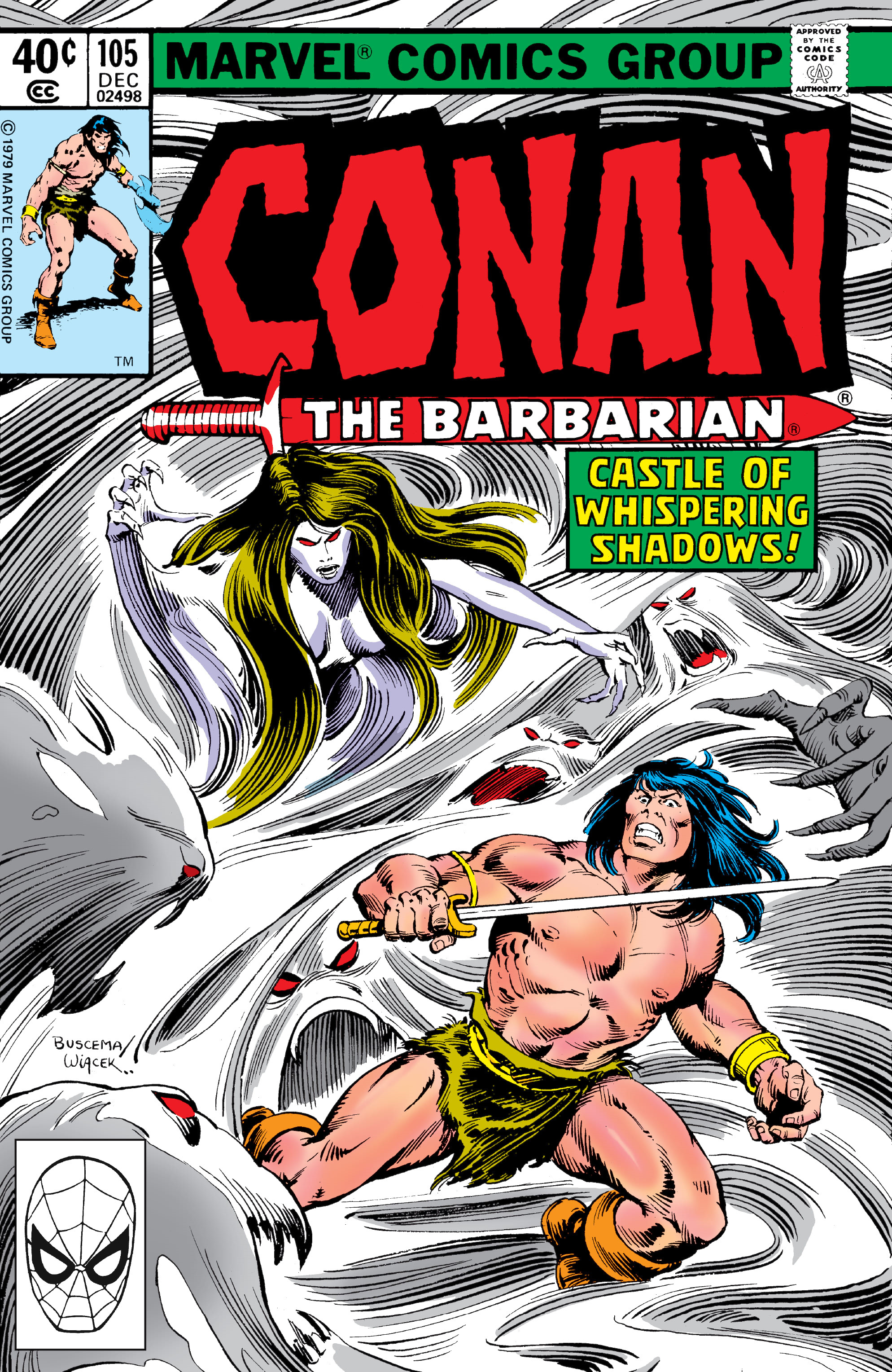 Conan the Barbarian Vol 1 105