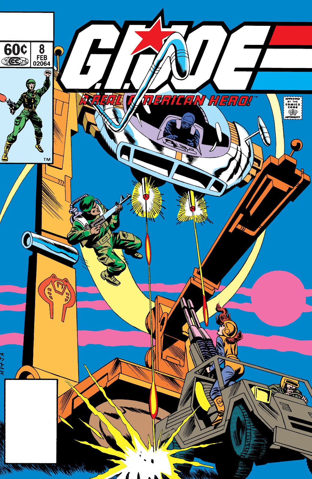 G.I. Joe: A Real American Hero Vol 1 8