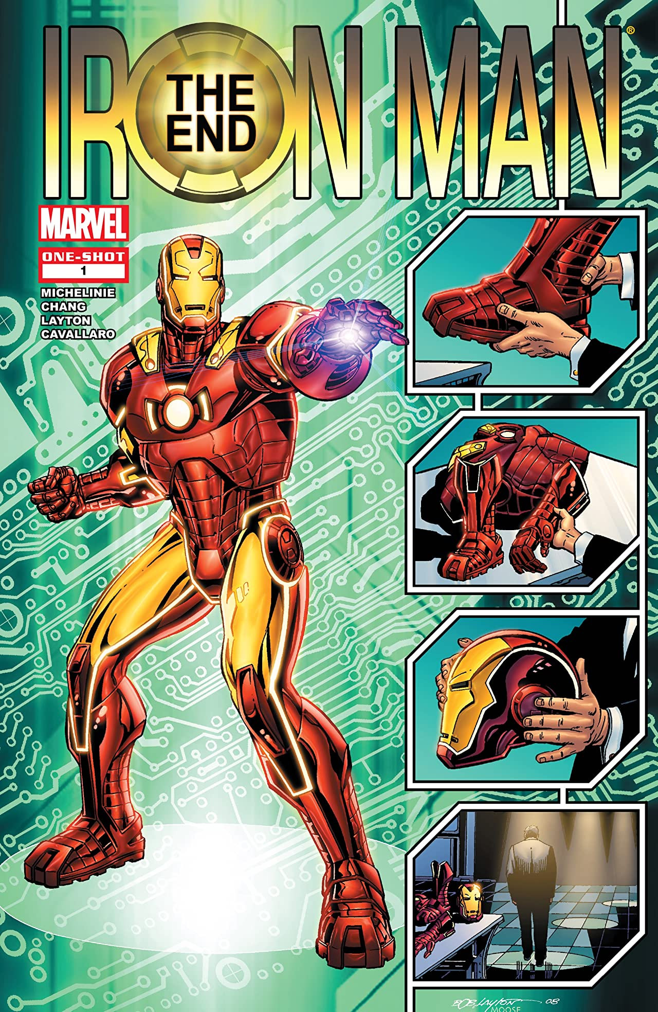 Iron Man: The End Vol 1 1