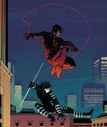 Matthew Murdock (Earth-616) and Samuel Chung (Earth-616) from Daredevil Vol 1 602 001