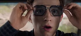 Peter Parker (Earth-199999) and Tony Stark's Sunglasses from Spider-Man - Far From Home 001.jpg