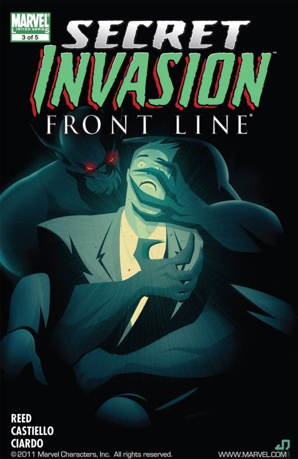 Secret Invasion: Front Line Vol 1 3