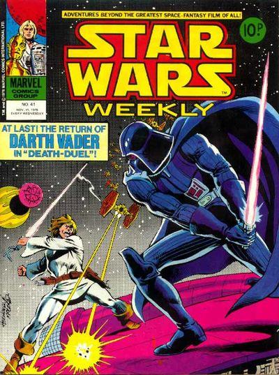 Star Wars Weekly (UK) Vol 1 41