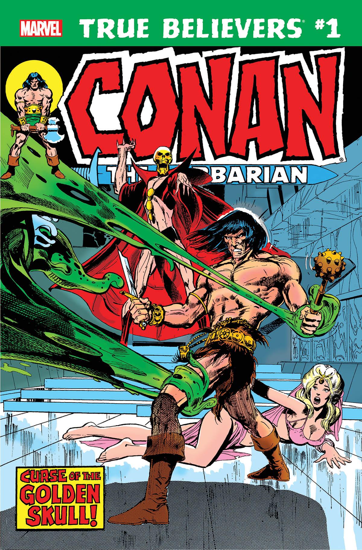 True Believers: Conan - Curse of the Golden Skull! Vol 1 1