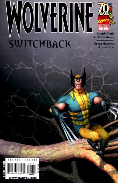 Wolverine: Switchback Vol 1 1