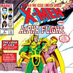 X-Men/Alpha Flight Vol 1 2