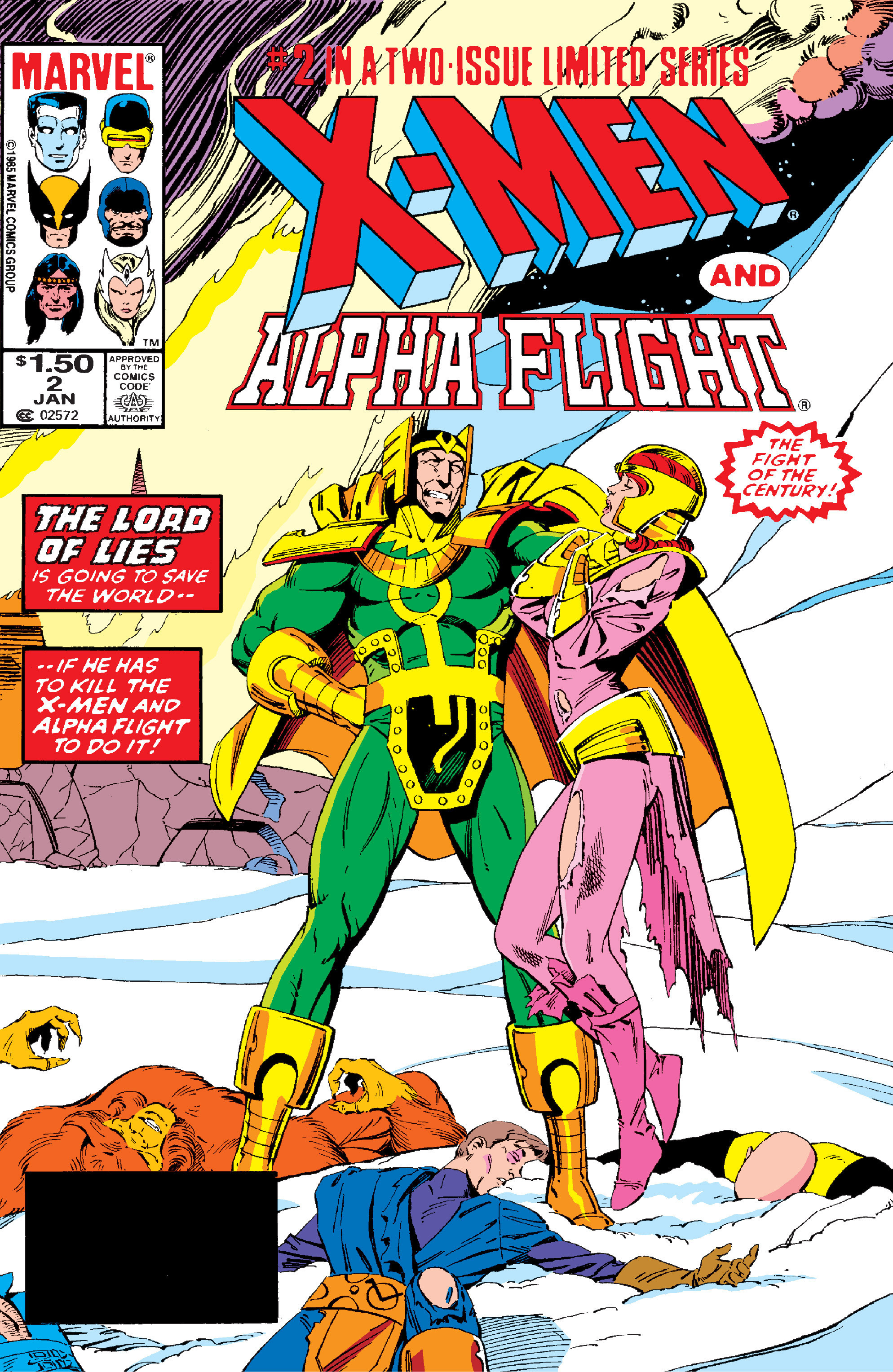 X-Men/Alpha Flight Vol 1 2