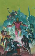Avengers Vol 8 1 Ribic Variant Textless