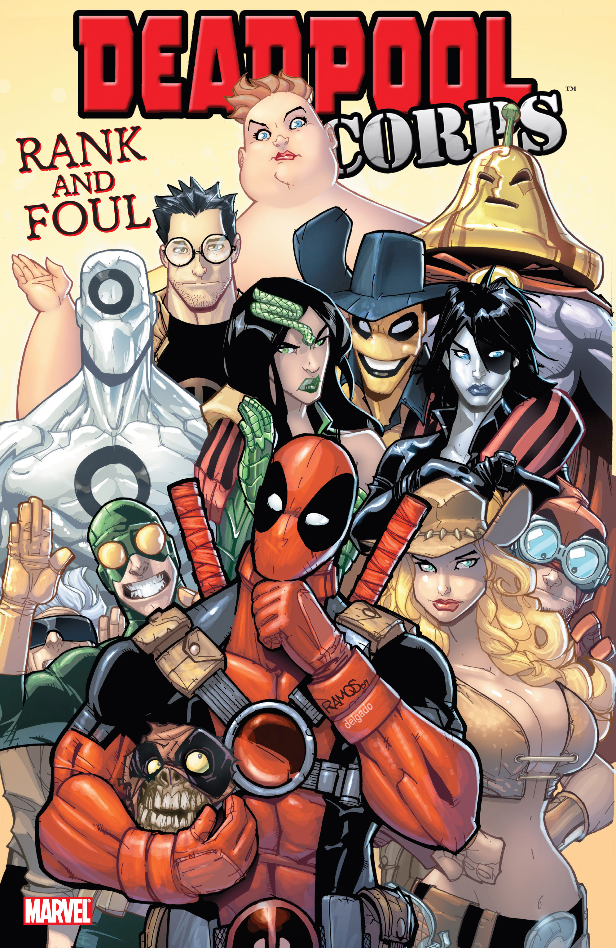 Deadpool Corps: Rank and Foul Vol 1