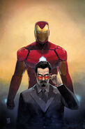 Invincible Iron Man Vol 3 1 Fried Pie Exclusive Variant Textless