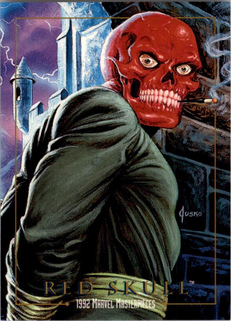 Johann Shmidt (Earth-616) from Marvel Masterpieces Trading Cards 1992 0001.jpg
