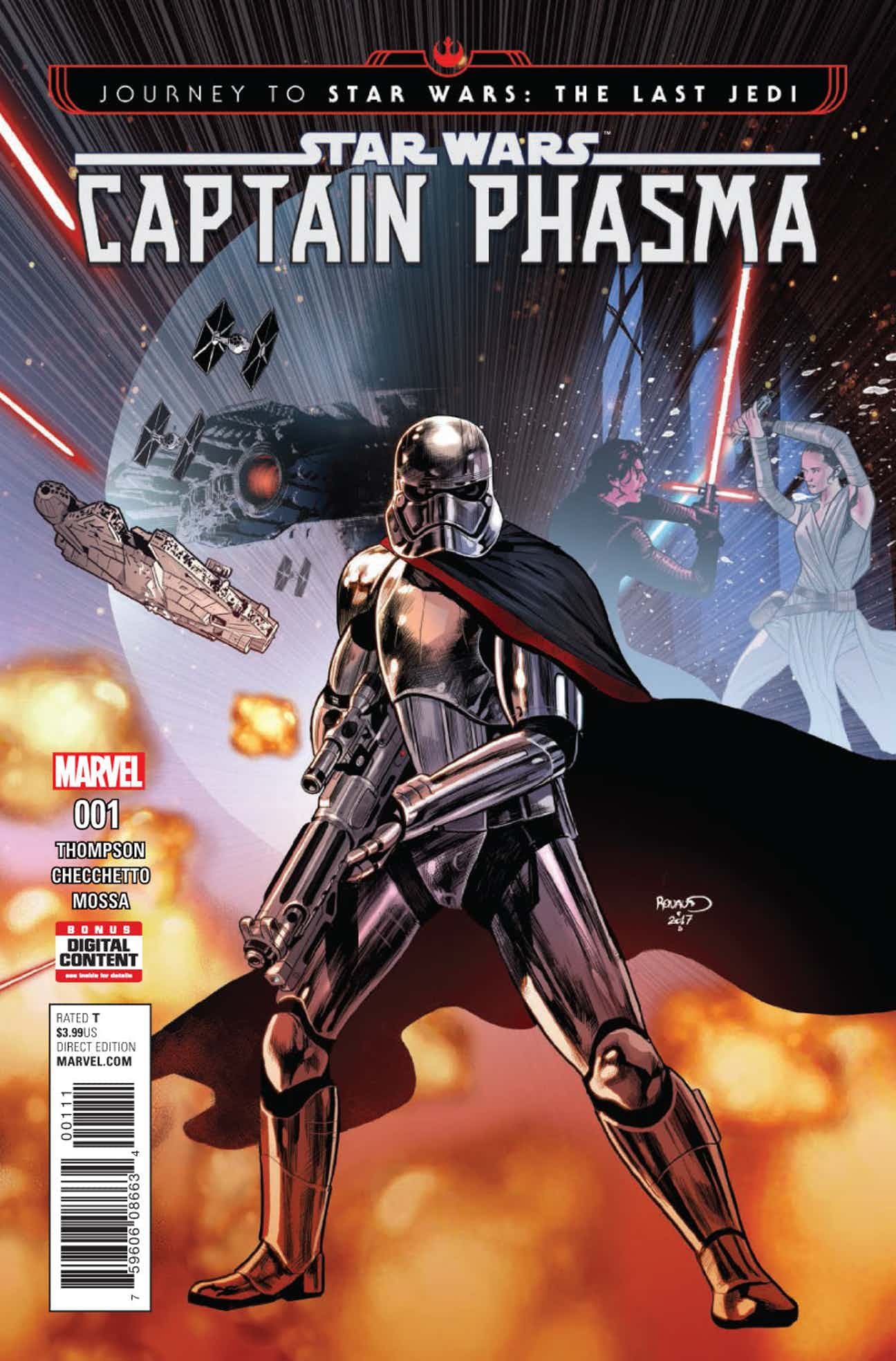 Journey to Star Wars: The Last Jedi - Captain Phasma Vol 1 1