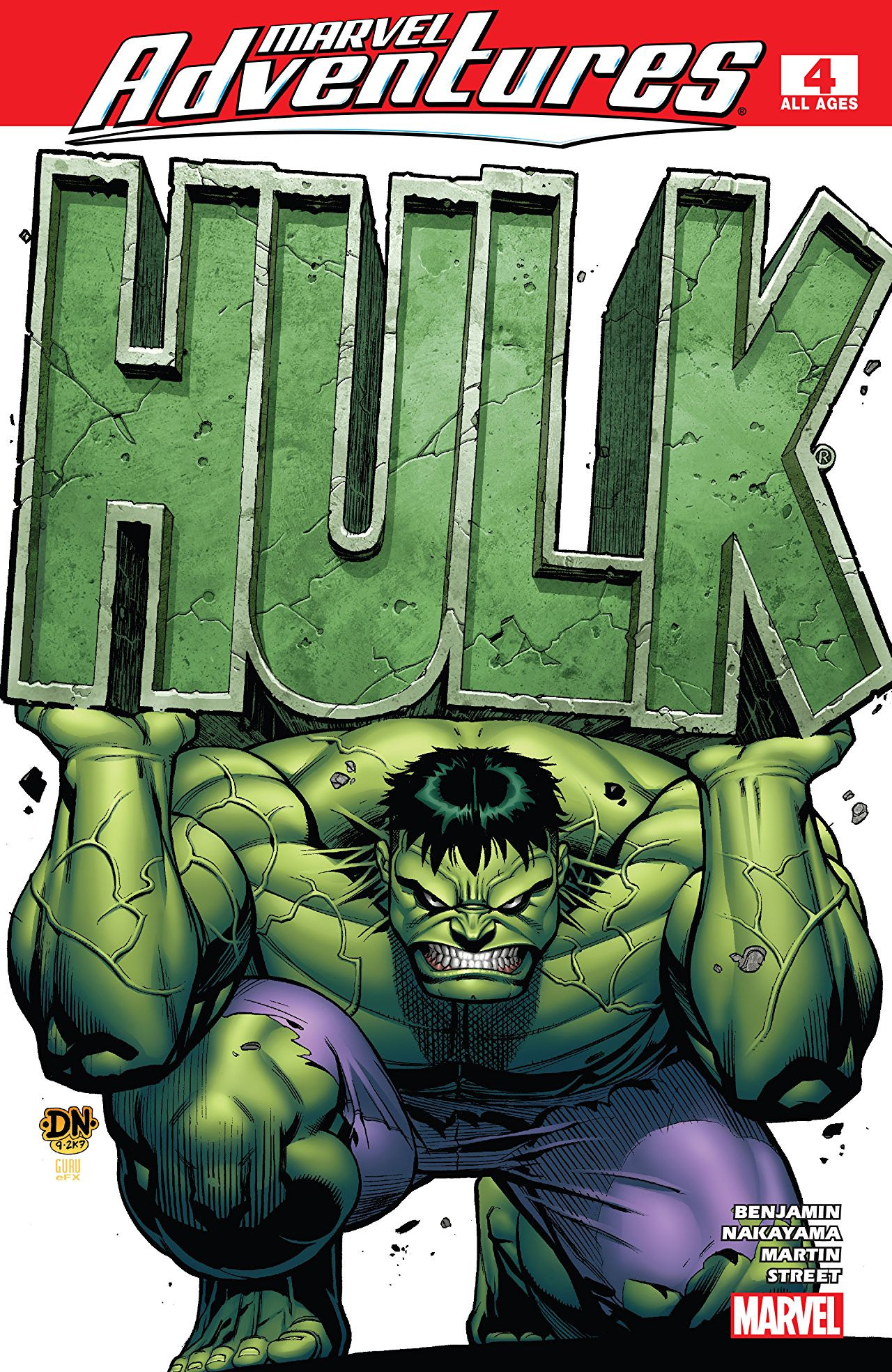 Marvel Adventures: Hulk Vol 1 4