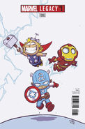 Marvel Legacy Vol 1 1 Young Variant