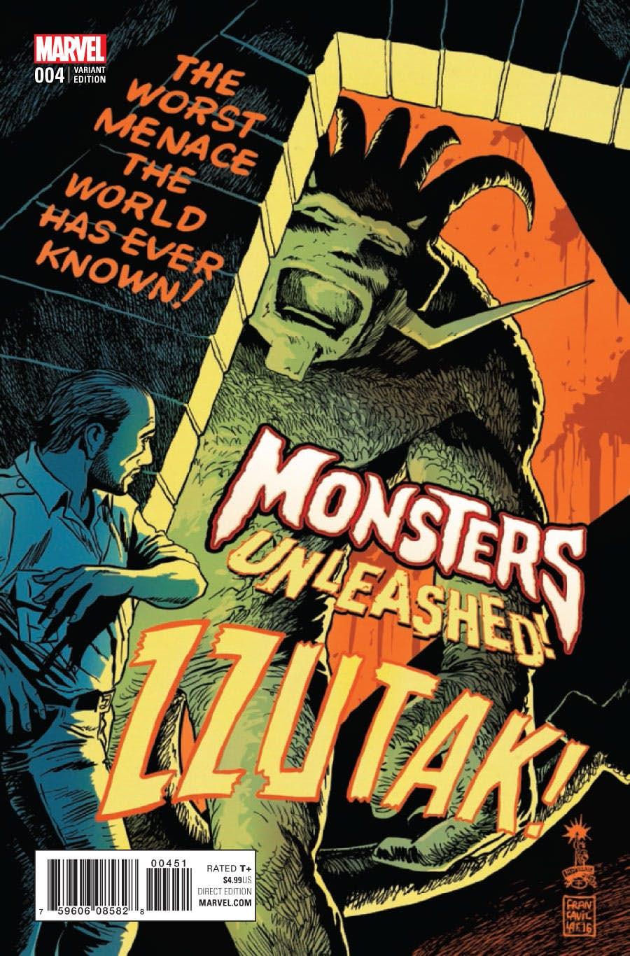 Monsters Unleashed Vol 2 4 50's Movie Poster Variant.jpg