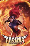 Phoenix Resurrection The Return of Jean Grey Vol 1 4 Jean Grey Variant Textless