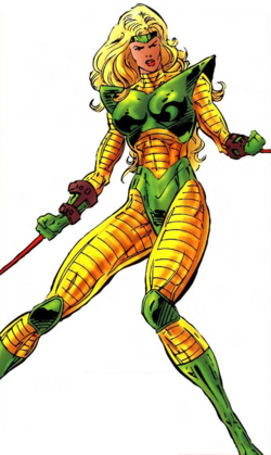 Ravonna Renslayer (Earth-6311) from All-New Official Handbook of the Marvel Universe Vol 1 11 0001.png