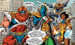 Supreme Four (Warp World) (Earth-616)