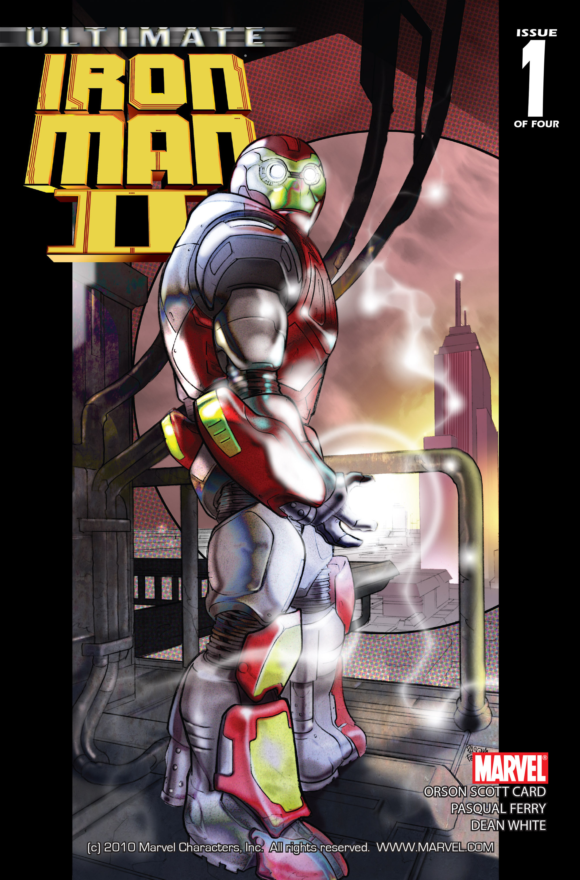 Ultimate Iron Man II Vol 1 1