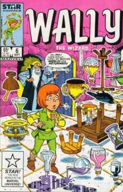 Wally the Wizard Vol 1 6
