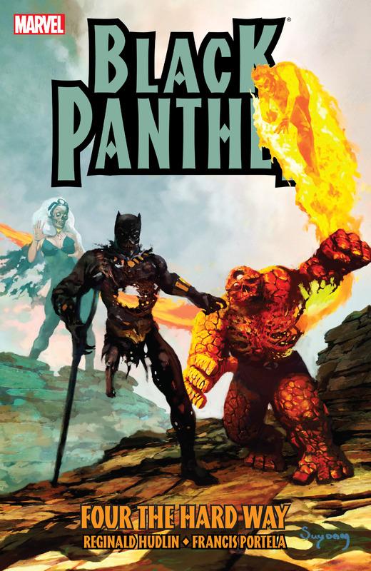 Black Panther: Four the Hard Way TPB Vol 1