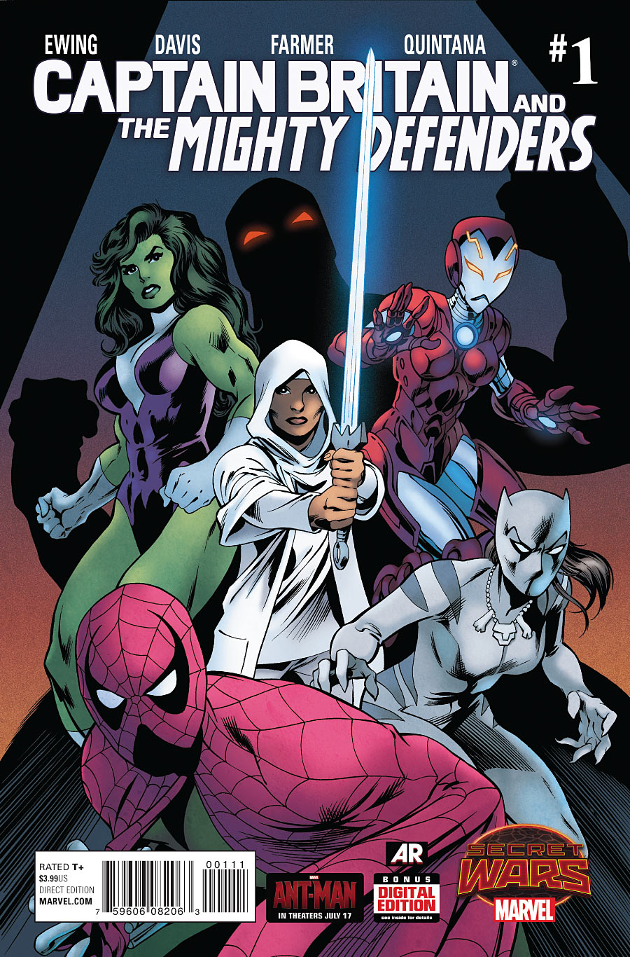 Captain Britain and the Mighty Defenders Vol 1 1