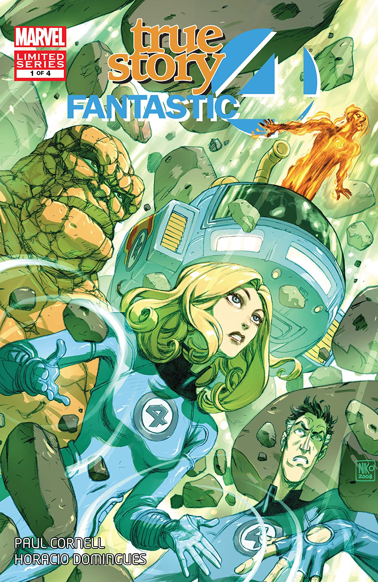 Fantastic Four: True Story Vol 1 1