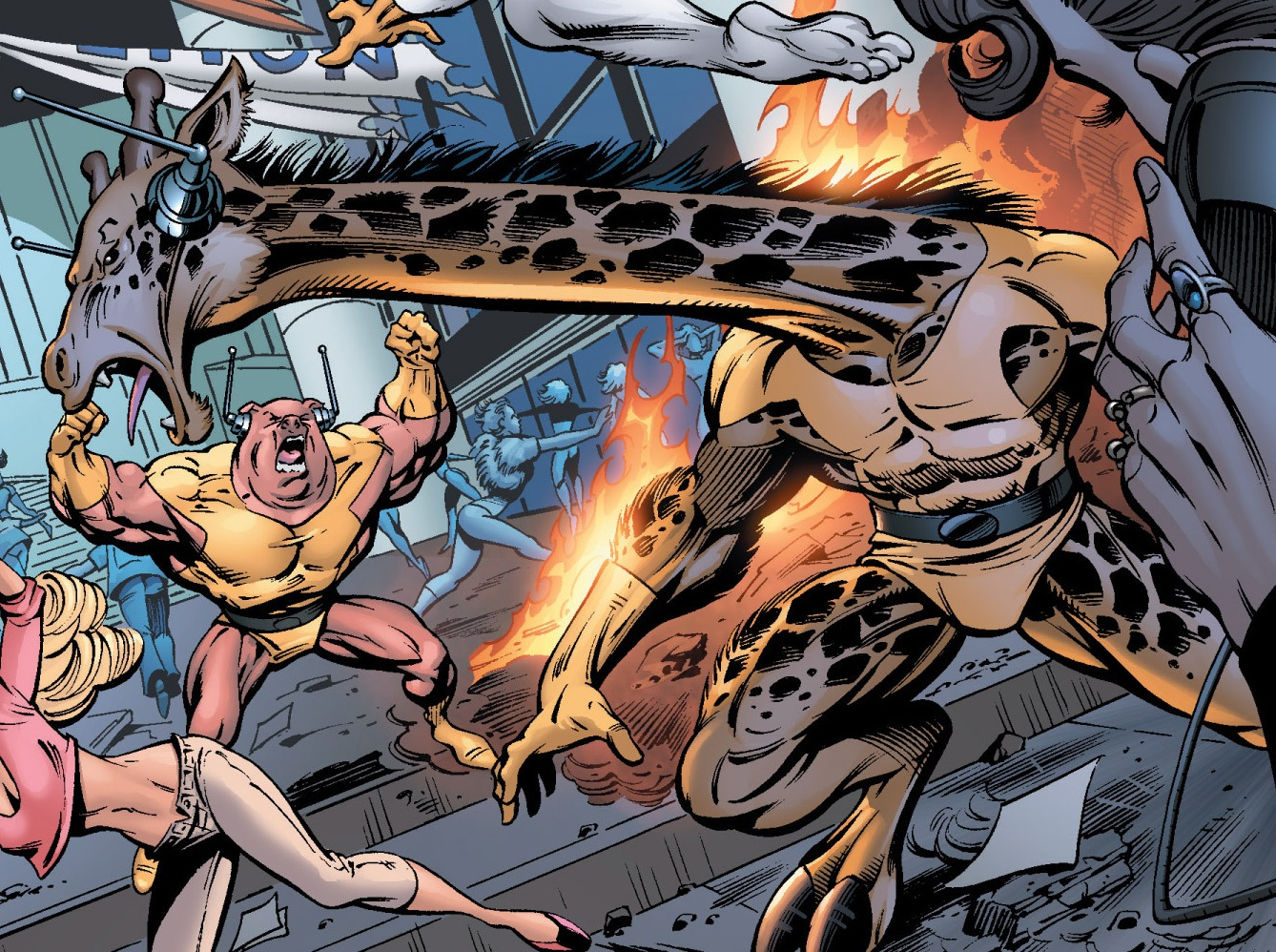 Giraffe-Man (Earth-616)
