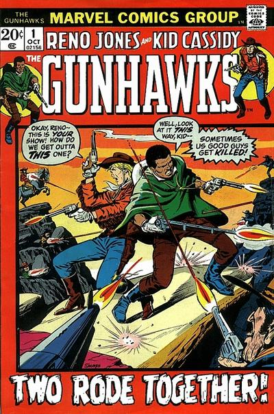 Gunhawks (Earth-616)/Gallery