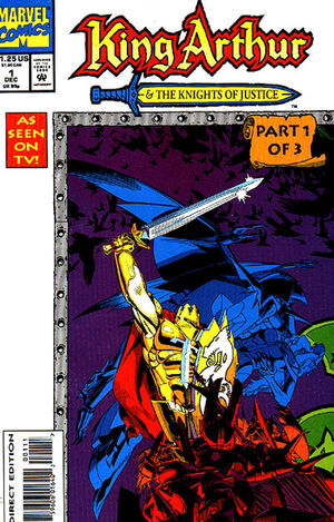 King Arthur and the Knights of Justice Vol 1 1.jpg