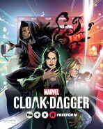 Marvel's Cloak & Dagger poster 009