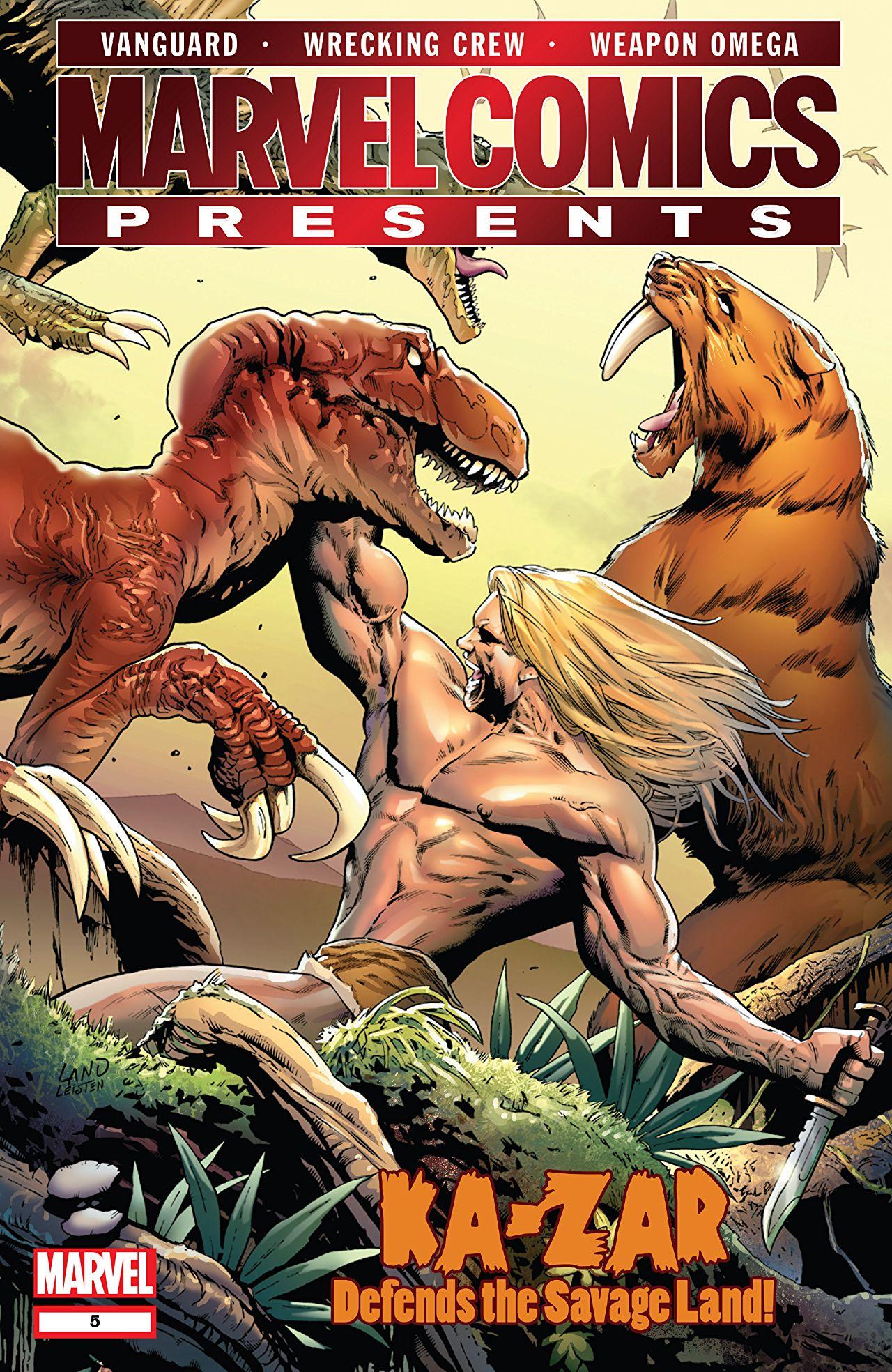 Marvel Comics Presents Vol 2 5