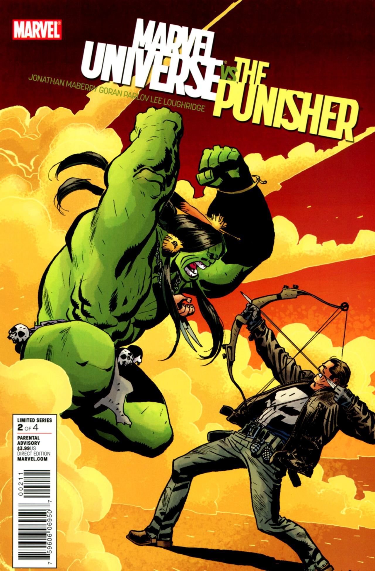 Marvel Universe Vs. The Punisher Vol 1 2
