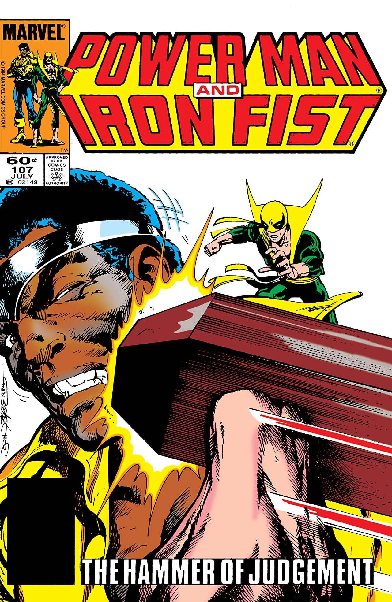 Power Man and Iron Fist Vol 1 107