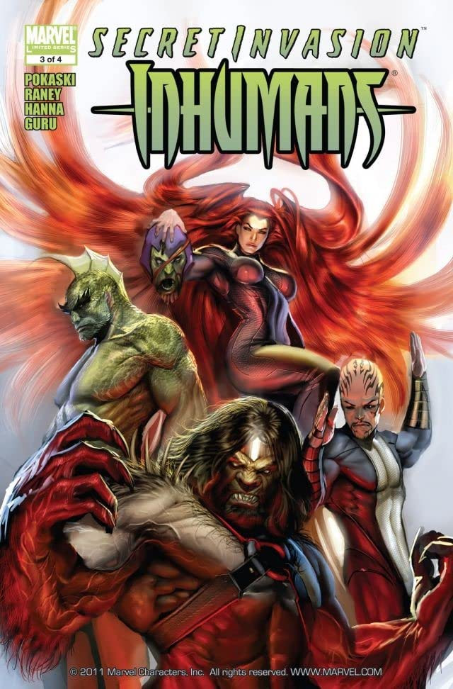 Secret Invasion: Inhumans Vol 1 3