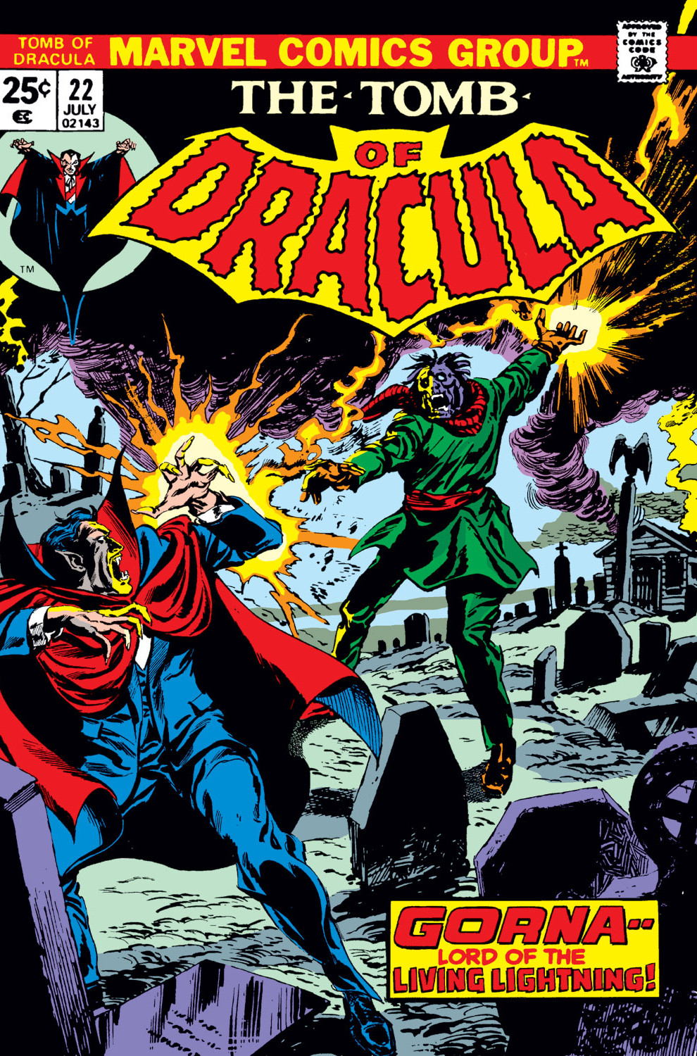 Tomb of Dracula Vol 1 22