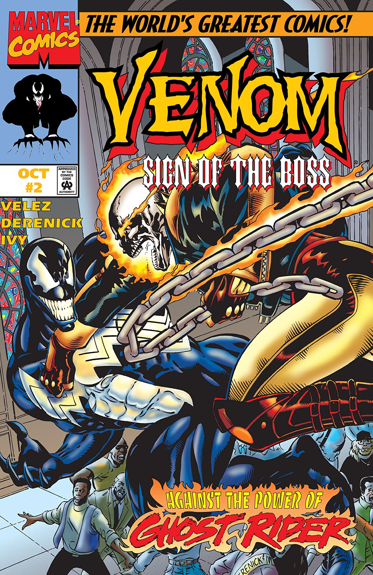 Venom: Sign of the Boss Vol 1 2