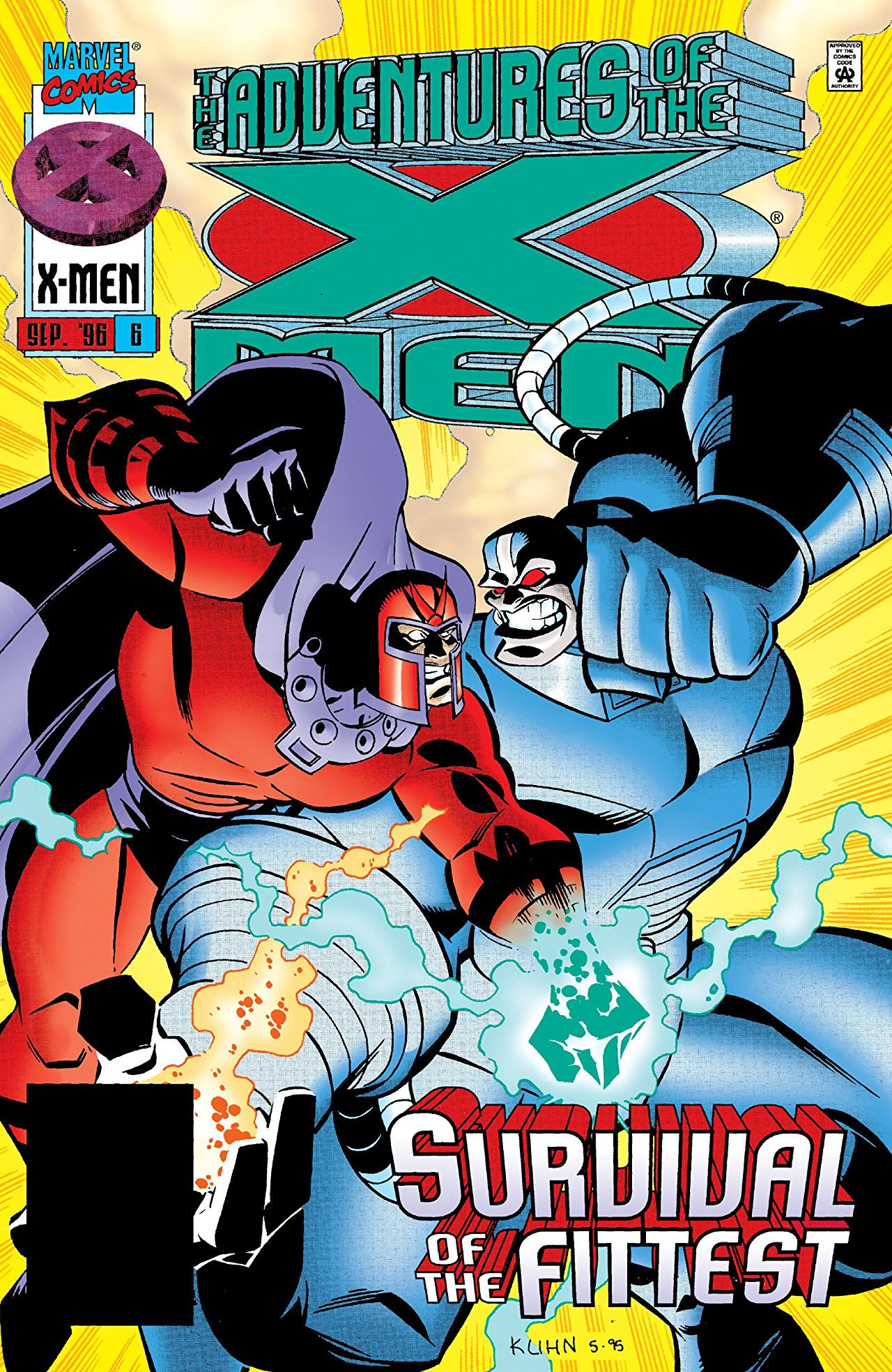 Adventures of the X-Men Vol 1 6