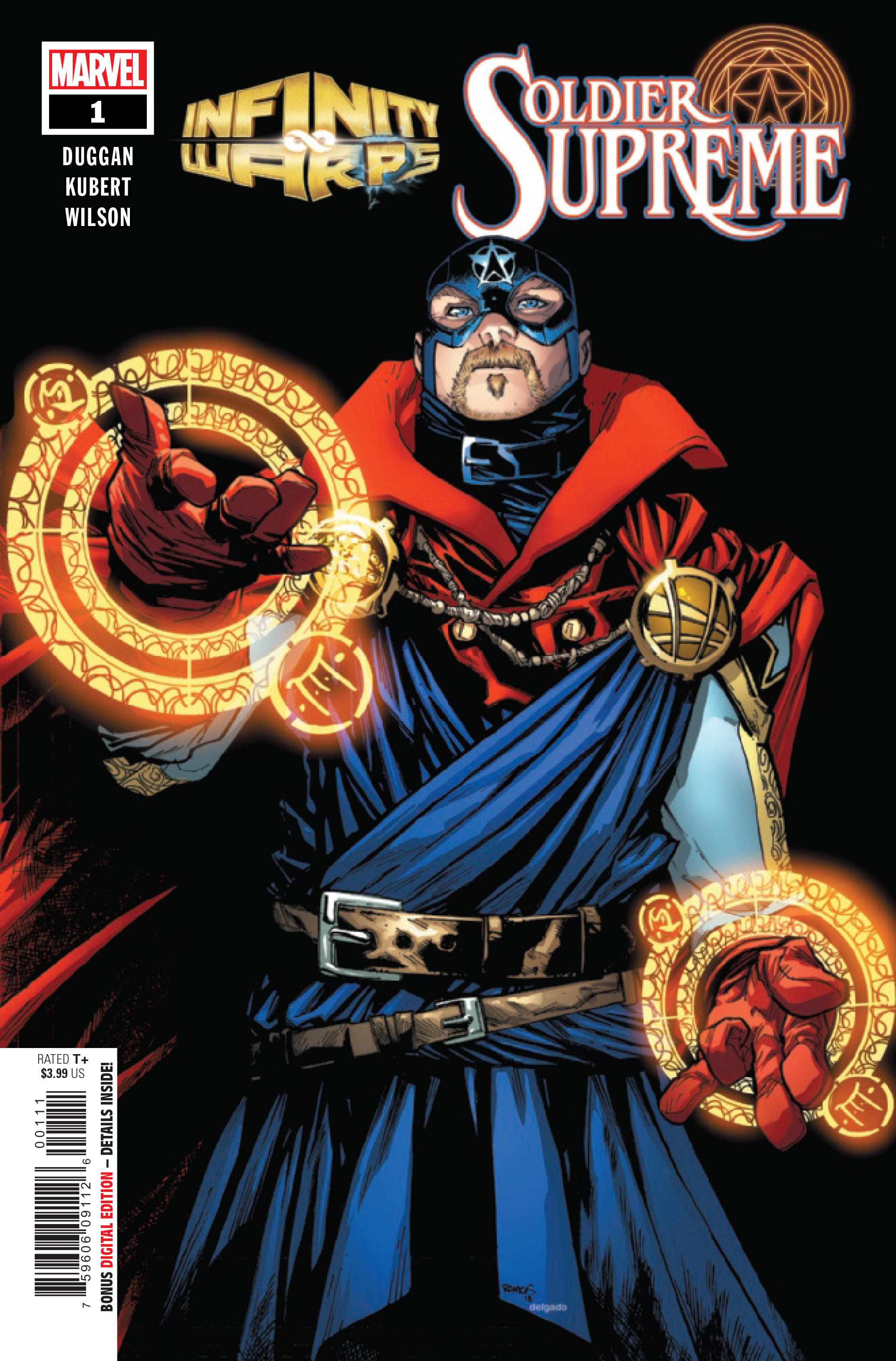 Infinity Wars: Soldier Supreme Vol 1 1
