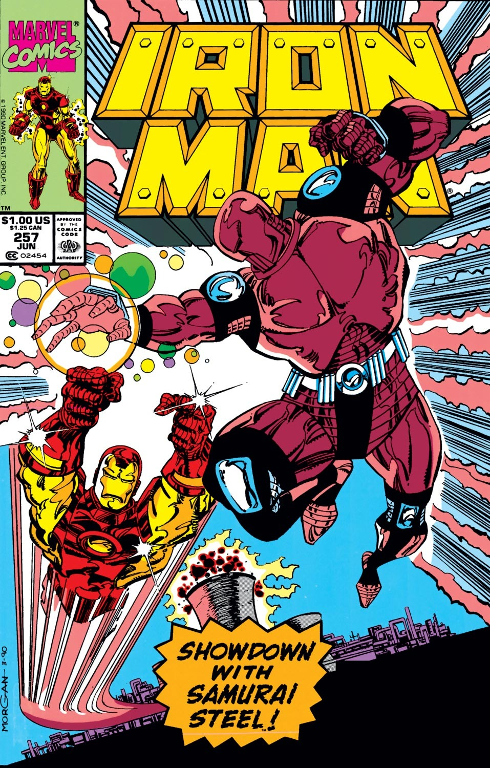 Iron Man Vol 1 257