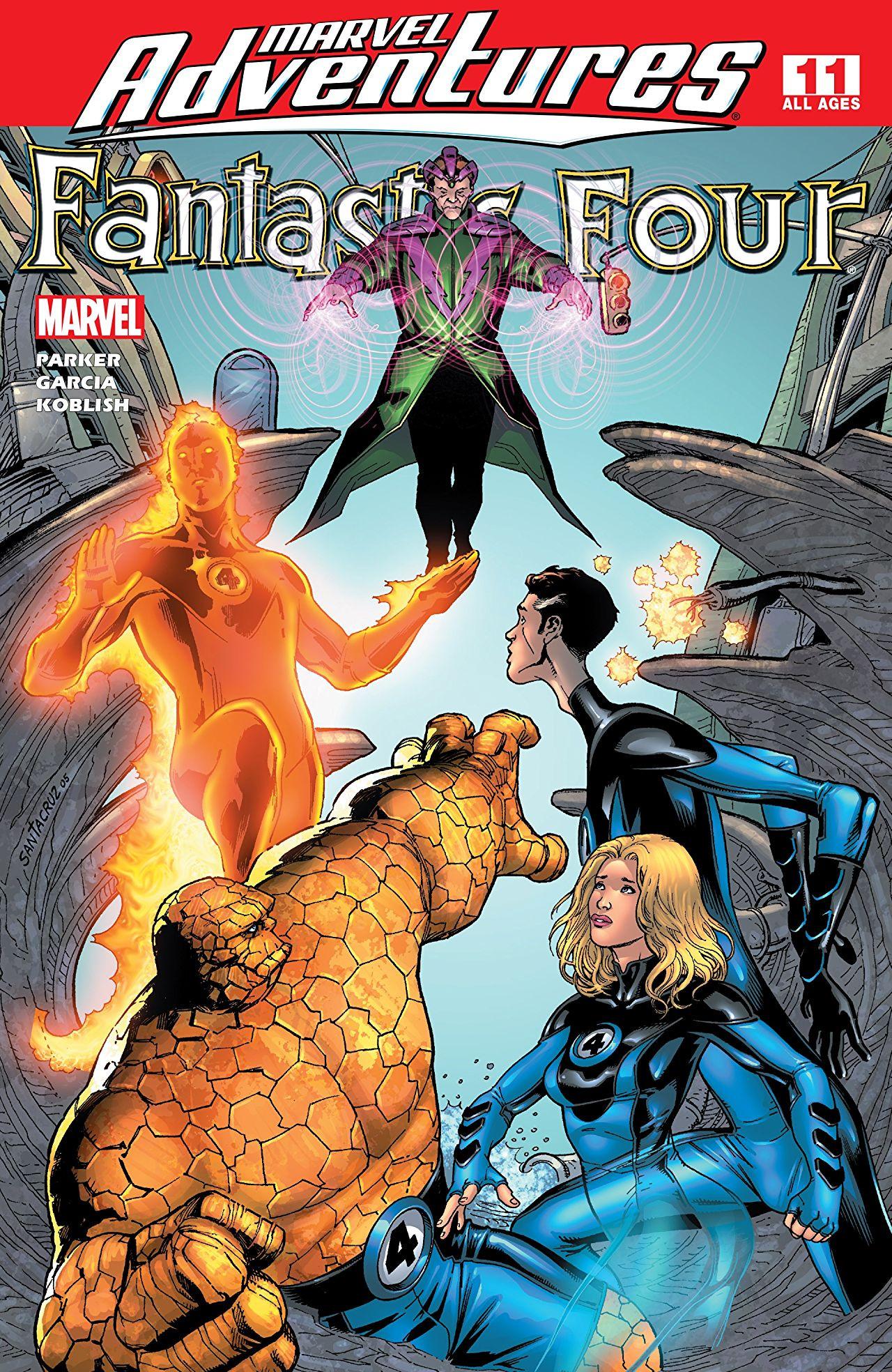 Marvel Adventures: Fantastic Four Vol 1 11