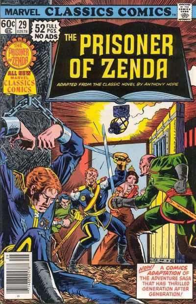 Marvel Classics Comics Series Featuring Prisoner of Zenda Vol 1 1